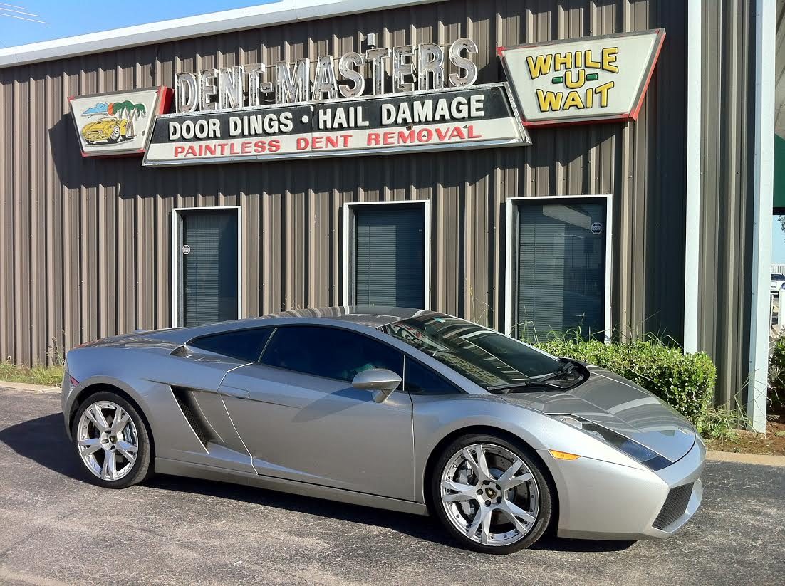 dent repair, okc dent repair, okc hail damage removal